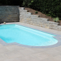 Mobile Preview: GFK Pool POP Roma 760x350x155cm